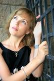 милая женщина Стоковое Фото