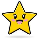 милая звезда eps иллюстрация штока