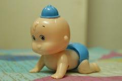 Милая игрушка младенца стоковая фотография rf