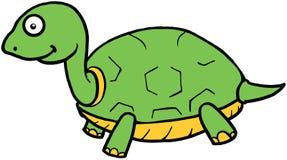 Милая иллюстрация шаржа черепахи Стоковая Фотография RF