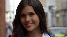 Милая испанская предназначенная для подростков девушка Стоковые Фото