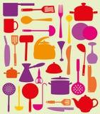 Милая картина кухни. Стоковая Фотография RF
