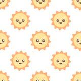Милая картина солнца Стоковая Фотография RF
