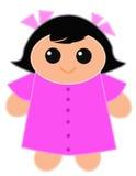милая кукла Бесплатная Иллюстрация