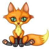 милая лисица немногая Стоковые Изображения RF
