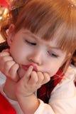 Милая маленькая девочка Стоковые Изображения RF