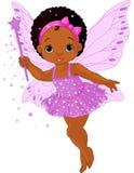 Милая маленькая фе младенца иллюстрация штока