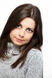 Милая молодая женщина Стоковые Фото