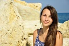 Милая молодая женщина Стоковое фото RF