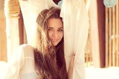 Милая прелестно девушка Стоковое Изображение RF