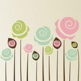 Милая предпосылка цветка Стоковая Фотография