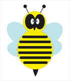 Милая пчела. Стоковое Изображение