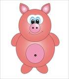 Милая свинья.   Стоковое фото RF