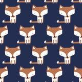 Милая собака - дизайн картины вектора плоский лисица бесплатная иллюстрация