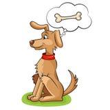 милая собака иллюстрация вектора