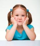 милая девушка меньший портрет Стоковая Фотография RF