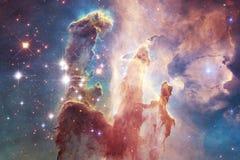 Миллиарды галактик в вселенной абстрактный космос предпосылки стоковое фото rf