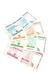 миллиард долларов замечает Зимбабве Стоковое фото RF