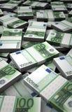Миллиард евро иллюстрация вектора