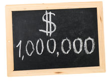 Миллион долларов Стоковое Изображение RF
