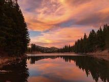 Миллион резервуаров, около южной вилки, Колорадо Стоковое Изображение
