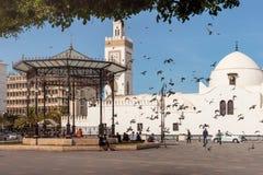 Милое место в Алжире во время лета стоковые изображения