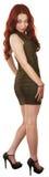Милое платье женщины вкратце Стоковая Фотография RF