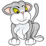 Милочка кота стоковые фото