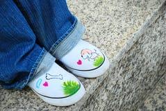 милые ботинки Стоковые Фотографии RF