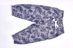Милые брюки дизайна для детей стоковые фотографии rf