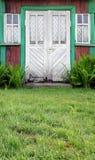 милые двери затрапезные Стоковые Фотографии RF