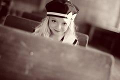 милые детеныши девушки Стоковая Фотография