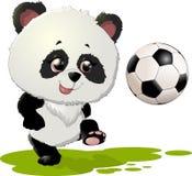 Милые иллюстрации медведя панды Стоковые Изображения
