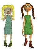 милые куклы 2 Стоковая Фотография RF