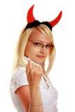 милые рожочки дьявола немногая Стоковое Фото