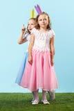 Милые princesses на променад Стоковое Изображение RF
