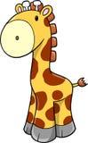 милый вектор сафари giraffe бесплатная иллюстрация