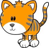 милый вектор тигра сафари иллюстрации бесплатная иллюстрация