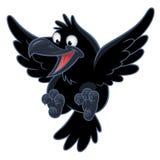Милый ворон мультфильма бесплатная иллюстрация