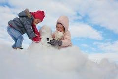 Милый гриль 2 в снеге Стоковое Изображение RF