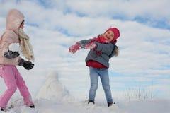 Милый гриль 2 в снеге Стоковые Изображения