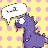 милый динозавр стоковая фотография rf