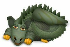 милый дракон иллюстрация штока
