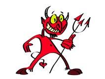 милый дьявол иллюстрация вектора