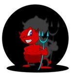 милый дьявол иллюстрация штока