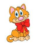 Милый котенок Бесплатная Иллюстрация