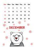 Милый красный медведь носа бесплатная иллюстрация