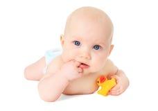 Милый маленький младенец Стоковые Фотографии RF