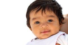 Милый маленький усмехаться младенца Стоковое Фото