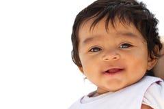 Милый маленький усмехаться младенца Стоковая Фотография RF